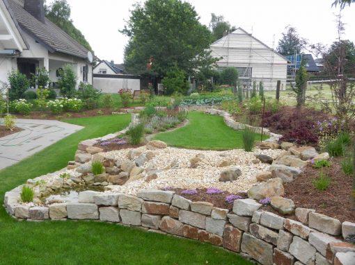 Garten mit barrierefreier Planung